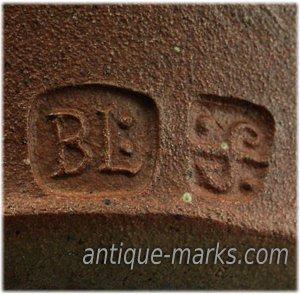 Bernard Leach Seal Mark & St Ives Pottery Mark