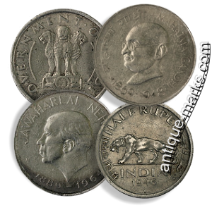 Collecting British Indian Silver Coins - Group