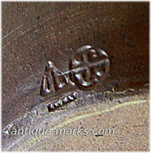 Janet Leach Seal Mark & St Ives Pottery Mark