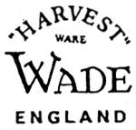 Wade HARVEST Mark c1947 to c1955