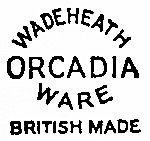 Wade Heath Orcadia Ware Marks c1934