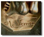 Signature Mark Le Verrier (1891 to 1973)