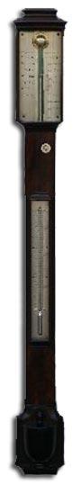 antique clocks - Cohen stick barometer