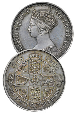 British Florin - One tenth of a Pound
