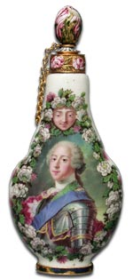 Capodimonte scent bottle