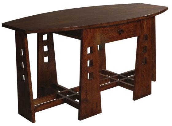 antique furniture - a charles rennie mackintosh table