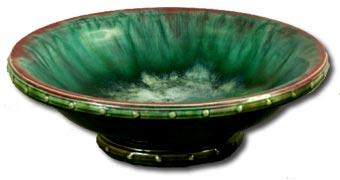antique marks glossary - christopher dresser linthorpe pottery bowl