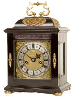 Clowes Antique Bracket Clock