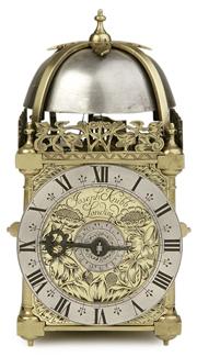A Lantern Clock by Joseph Knibb