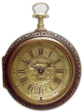 Tompion Pair Cased Verge Watch