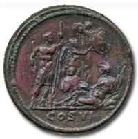 Commodus (AD 177-192), AE Medallion, AD 190-191