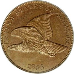 American Flying Eagle Cent c1856