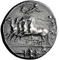 Collectable Greek Coins - Decadrachm Ancient Coin