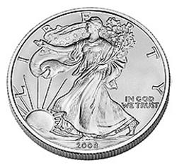 American Silver Eagle Obverse