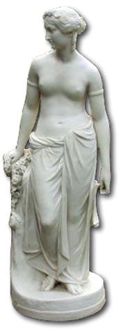 Copeland Parian ware figure