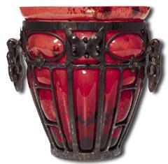 caring for antiques - a daum marjorelle vase