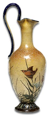 Doulton Vase by Florence Barlow