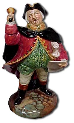 Doultons Peggy Davies - The town crier