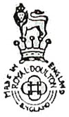 Royal Doulton marks 1922-56