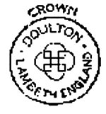 antique marks - Royal Doulton marks - crown