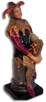 dulton - charles noke jester figure