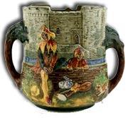 Royal Doultons charles noke the minstrel loving cup