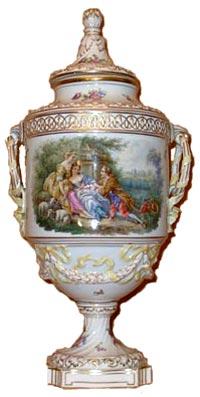 Dresden Porcelain Vase