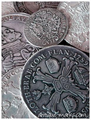 Vintage European Silver Coins