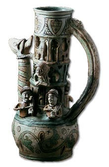 Antique Glossary - The Exeter Puzzle Jug