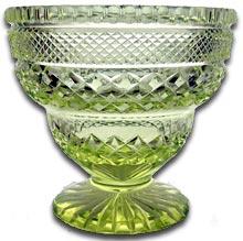 antique marks - collecting antique glass - pair loetz art nouveau glass vases