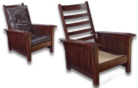 Gustave stickley - craftsman easy chair