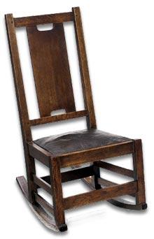 Gustav Stickley Rocking Chair