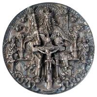 Hans Reinhart Silver Medal - The Trinity or Morizpfennig c1544