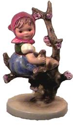 Hummel Figurine Apple Tree Girl