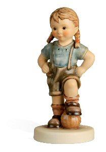 Hummel Figurine Ready to Play