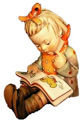 Hummel Figurine The Bookworm