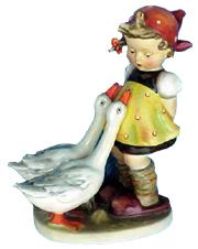 Hummel Figurine Goose Girl