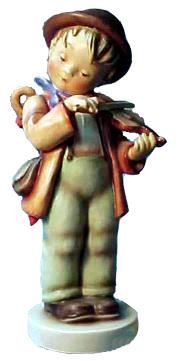 Hummel Figurine Little Fiddler