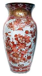 japanese meiji period kutani vase