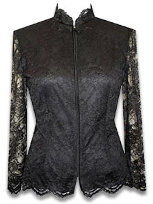 antique marks glossary - lace work jacket