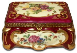 Limoges trinket box - Gout de Ville Paris
