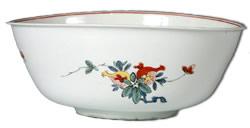 Meissen Bottger porcelain waste bowl