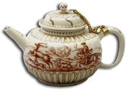 Meissen Bottger teapot and cover