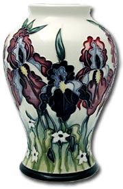 moorcroft duet vase by nicola slaney