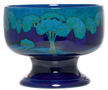 Rare Moorcroft Moonlit Blue Bowl