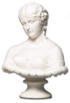 Antique Glossary - Parian Bust of a Lady