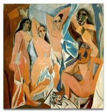 Antique Glossary - Pablo Picasso Demoiselles