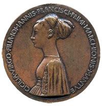 Pisanello Cecilia Gonzaga medal Innocence and Unicorn in Moonlit Landscape