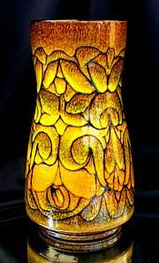 Poole Pottery Vase signed AF