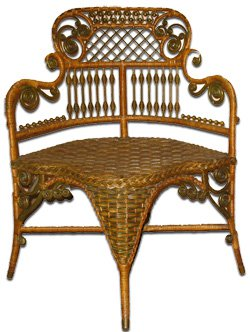 Rattan Conservatory Chair